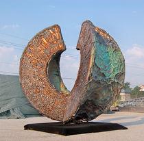 Escultura de acero / de cobre / de aluminio / para espacio público