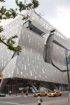 Revestimiento de fachada metal / de chapa / texturado / perforado