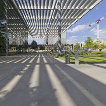Marquesina para edificio comercial / de aluminio / profesional