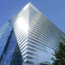 Revestimiento de fachada de aluminio / reflectante / de panel