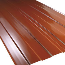 Plancha de tejado de aluminio / de cobre / de poliéster