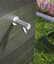 Grifo de fuente para beber / de pared / de acero / de jardín