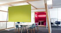 Panel acústico para revestimiento interior / de textil / de diseño / para oficina