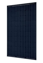 Módulo fotovoltaico monocristalino / estándar / para techado / negro