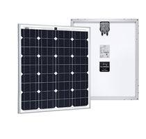 Módulo fotovoltaico monocristalino / estándar / autolimpiante / con marco de aluminio