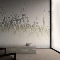Papeles pintados modernos / de vinilo / con motivos florales / con motivos de la naturaleza