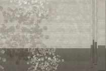 Papeles pintados modernos / de vinilo / con motivos de la naturaleza / con motivos geométricos