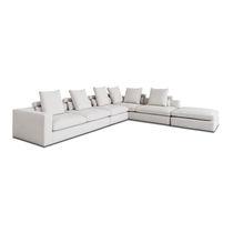Sofá modular / de esquina / moderno / para zona de recepción