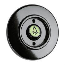 Interruptor mecedor / Bakelite® / clásico / negro