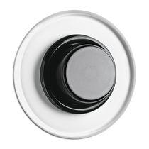 Regulador de intensidad luminosa con botón giratorio / de plástico / de Duroplast / moderno