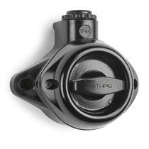 Interruptor rotativo / Bakelite® / clásico / negro