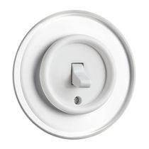 Interruptor de palanca / clásico / blanco