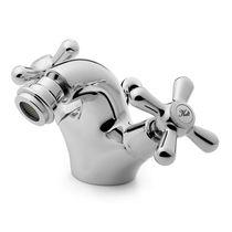 Grifo mezclador para bidé / de libre instalación / de latón / para baño