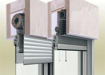 Persianas exteriores / de aluminio / para ventanas / con persiana veneciana integrada