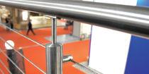 Barandilla de metal / de cable / de interior / para escalera