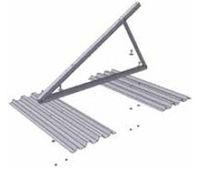 Estructura de soporte para cubierta plana / para cubierta de chapa ondulada / para techo / para aplicaciones fotovoltaicas