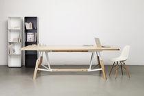 Mesa de comedor moderna / de roble / de nogal / de fresno