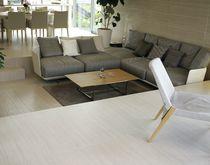 Pavimento de cerámica / residencial / en losas / liso