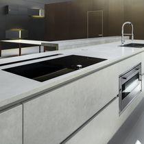 Panel decorativo para revestimiento interior / para cocina / de cerámica / liso