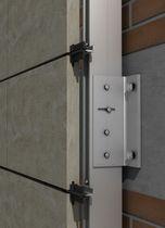 Sistema de fijación aluminio / para revestimiento de fachada / para fachada ventilada / para exteriores