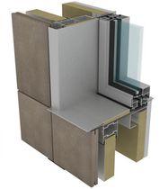 Sistema de fijación metal / para muro-cortina / para revestimiento de fachada / para fachada ventilada