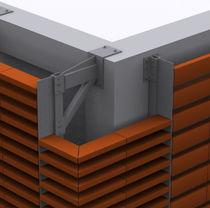 Sistema de fijación metal / para revestimiento de fachada / para fachada ventilada / para exteriores
