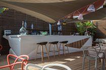 Bar de jardín profesional