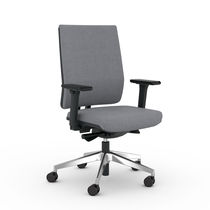 Sillón de oficina moderno / de polipropileno / de tejido / de cuero
