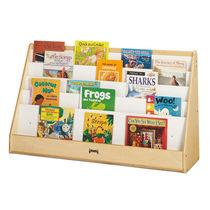 Expositor multiusos / de madera / para biblioteca
