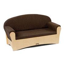 Sofá moderno / de contrachapado / de tejido / para guardería