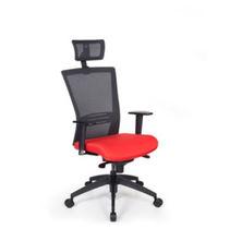 Sillón de oficina moderno / en malla / de tela / ajustable en altura
