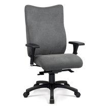 Sillón de oficina moderno / de tela / ajustable en altura / reclinable