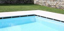 Baldosa para playa de piscina / de suelo / de piedra natural / a rayas