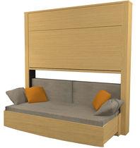 Sofá cama / moderno / madera / de 2,5 plazas