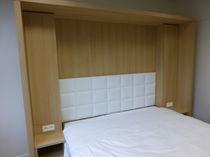 Cabecero para cama doble / moderno / de tejido / tapizado