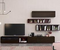 Mueble TV moderno / de roble