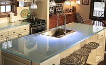 encimera de vidrio para cocina
