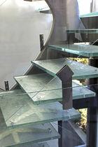 Escalón de vidrio