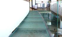 Panel de vidrio para forjado / de alta resistencia