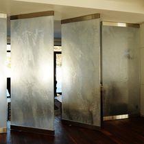 Panel de vidrio de pared / para tabique / para carpintería / para exteriores
