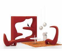 Sillón de diseño orgánico / de tejido / para niños / de Verner Panton