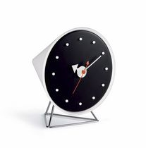 Reloj moderno / analógico / de mesa / de metal