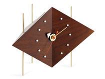 Reloj moderno / analógico / de mesa / de hierro fundido