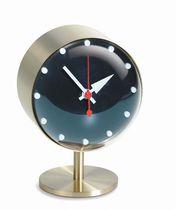 Reloj moderno / analógico / de mesa / de latón