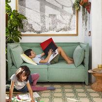 Sofá moderno / de tejido / de Ronan & Erwan Bouroullec / 2 plazas