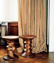 Taburete moderno / de nogal / de Charles & Ray Eames