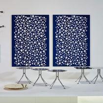 Panel decorativo de pared / de tela / impreso