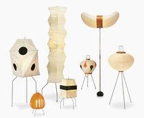 Lámpara de suelo / de diseño original / de papel / de interior