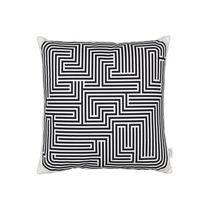 Cojin para sofá / cuadrado / con motivos / de algodón