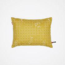 Cojin para sofá / rectangular / con motivos / de tela